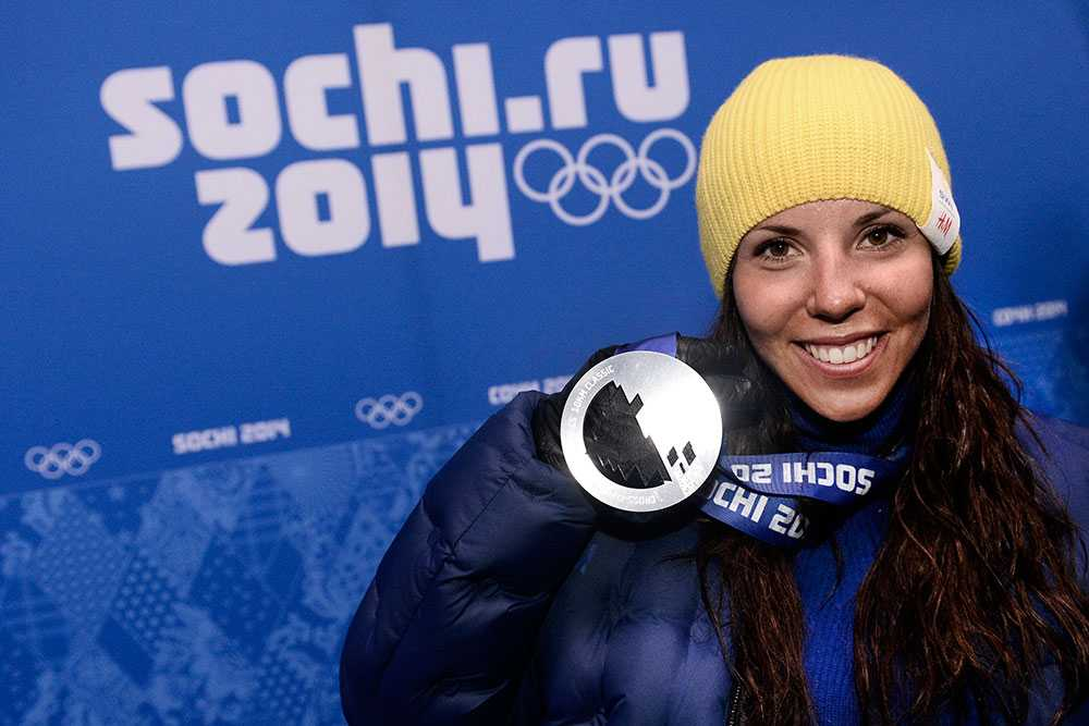 Charlotte tog silver i 10 km klassiskt under OS i Sotji 2014.