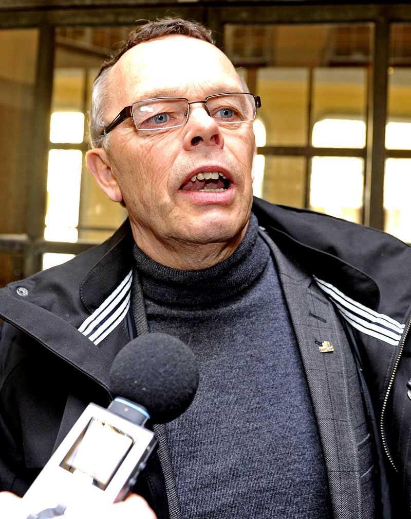 Åke Svensson, distriktsordförande för Gotland.