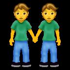 Personer som håller hand.