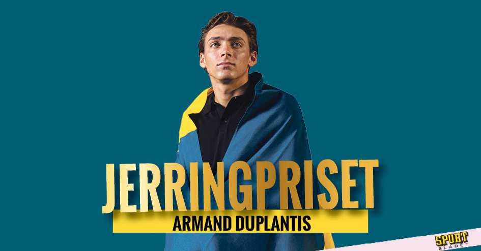 Armand Duplantis vann Jerringpriset