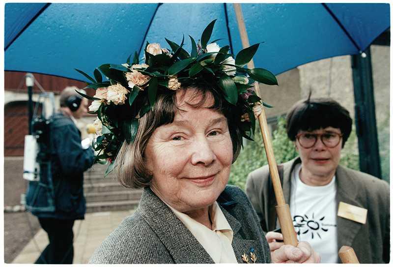 Lisbet Palme sommarpratade 1998