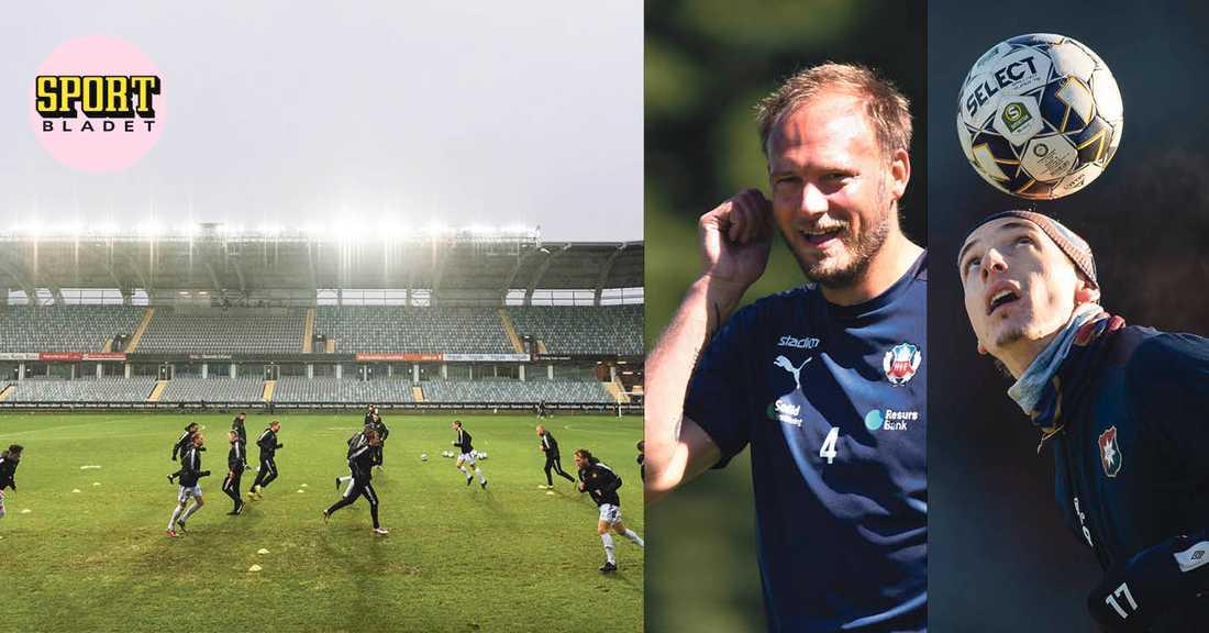 Andreas Granqvists Helsingborg är ett av lagen i Superettan 2021.