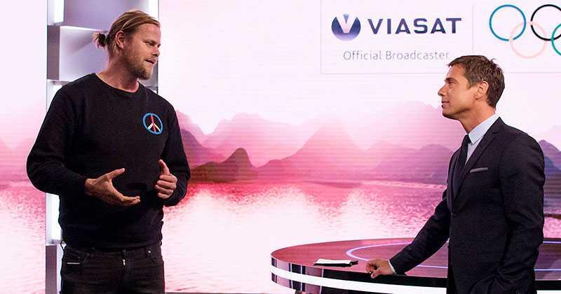 Viaplays sportchef Per Nunstedt och Ola Wenström.