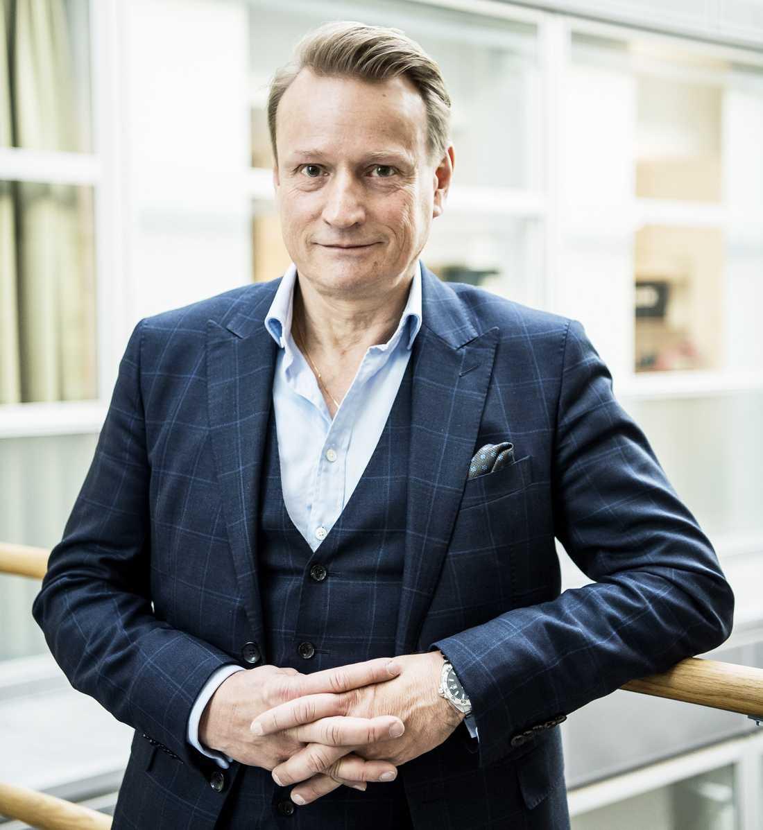 Matti Sällberg, professor i biomedicinsk analys vid Karolinska institutet
