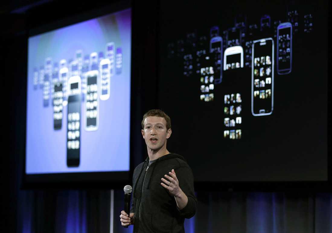 Mark Zuckerberg, grundare och vd för Facebook.