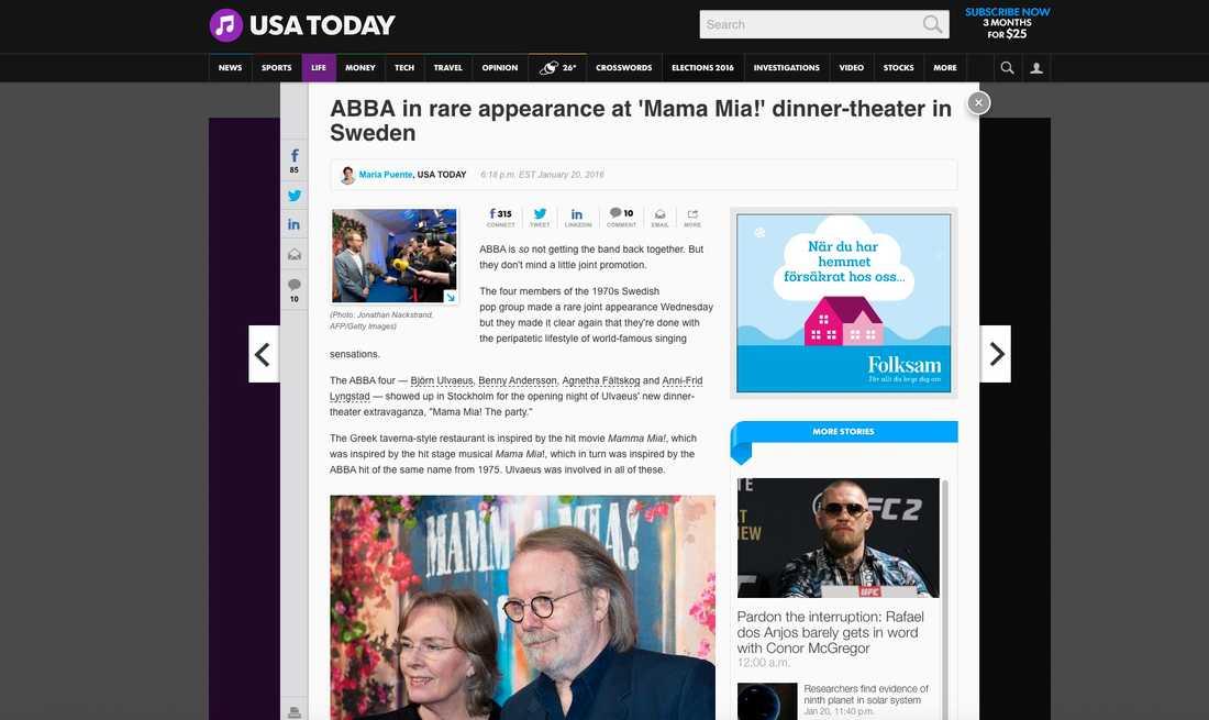 USA Today.
