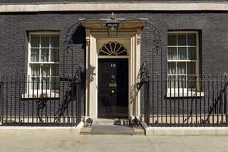 10 Downing street är den brittiska premiärministerns hem.