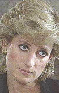 Livrädd När prinsessan Dianas vän Gianni Versace mördades bröt hon ihop och trodde att hon också skulle mördas.