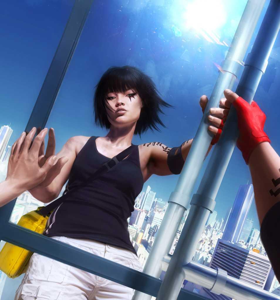 """""""Mirror's edge"""" från 2008."""