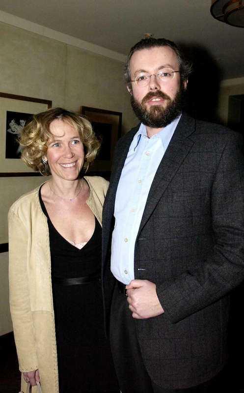 Hans Kristian Rausing med hustrun Eva.