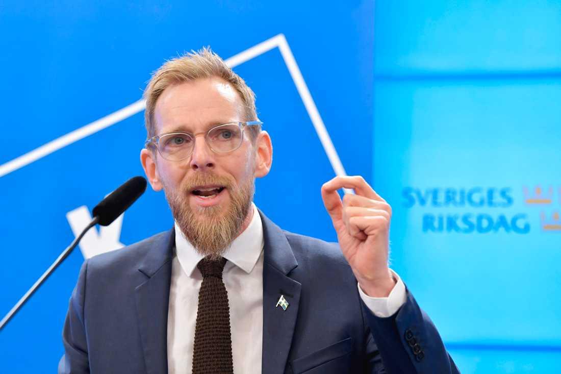 Kristdemokraternas ekonomisk-politiske talesperson Jakob Forssmed. Arkivbild.