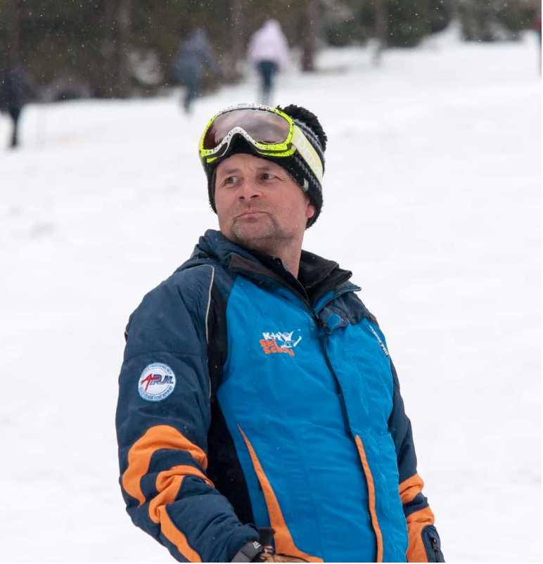 Bergsguiden Tonda Volk, 45, dog i Abiskofjällen i fredags.