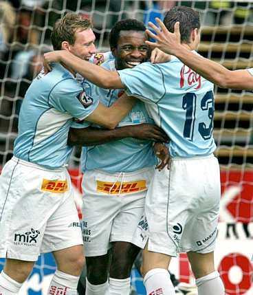 """Gör comeback? Peter Ijeh kan komma att hamna i Malmö FF igen. Han vill bort från Göteborg - och MFF är intresserade. """"Vi vill självklart prata med honom"""", säger MFF:s ordförande Bengt Madsen."""