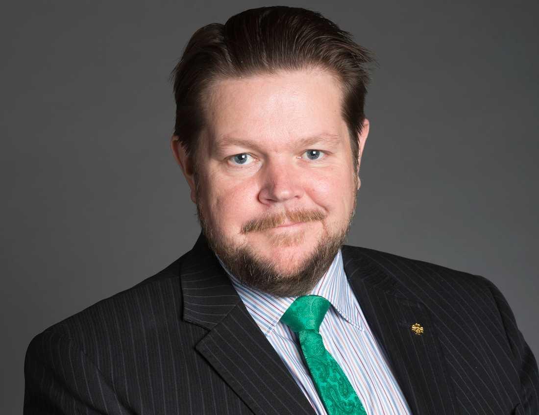 Johan Hedin, rättspolitisk talesperson (C)