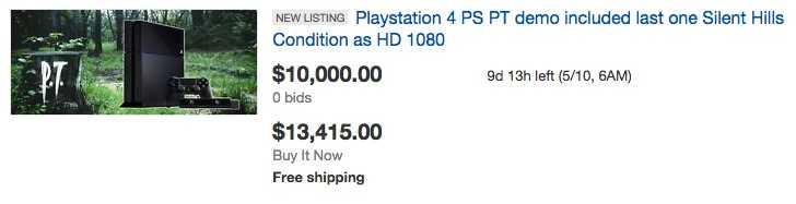 """En av många """"PT""""-auktioner på Ebay."""
