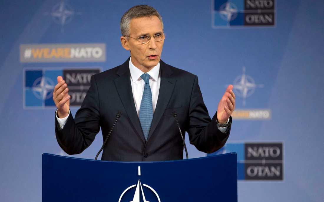 Natos generalssekreterare Jens Stoltenberg