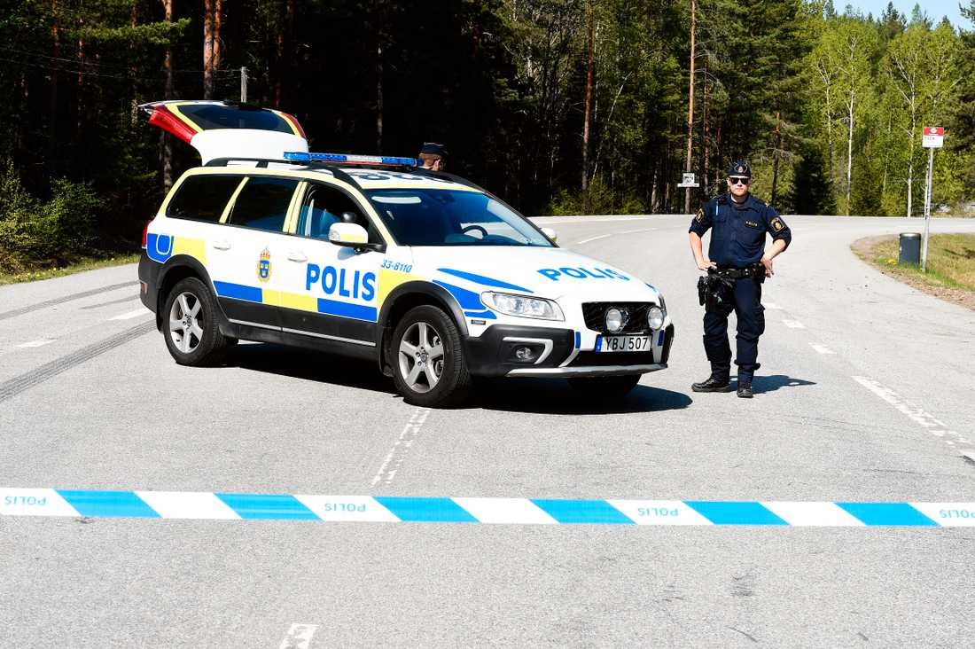 Det misstänkta mordet inträffade vid en skog.