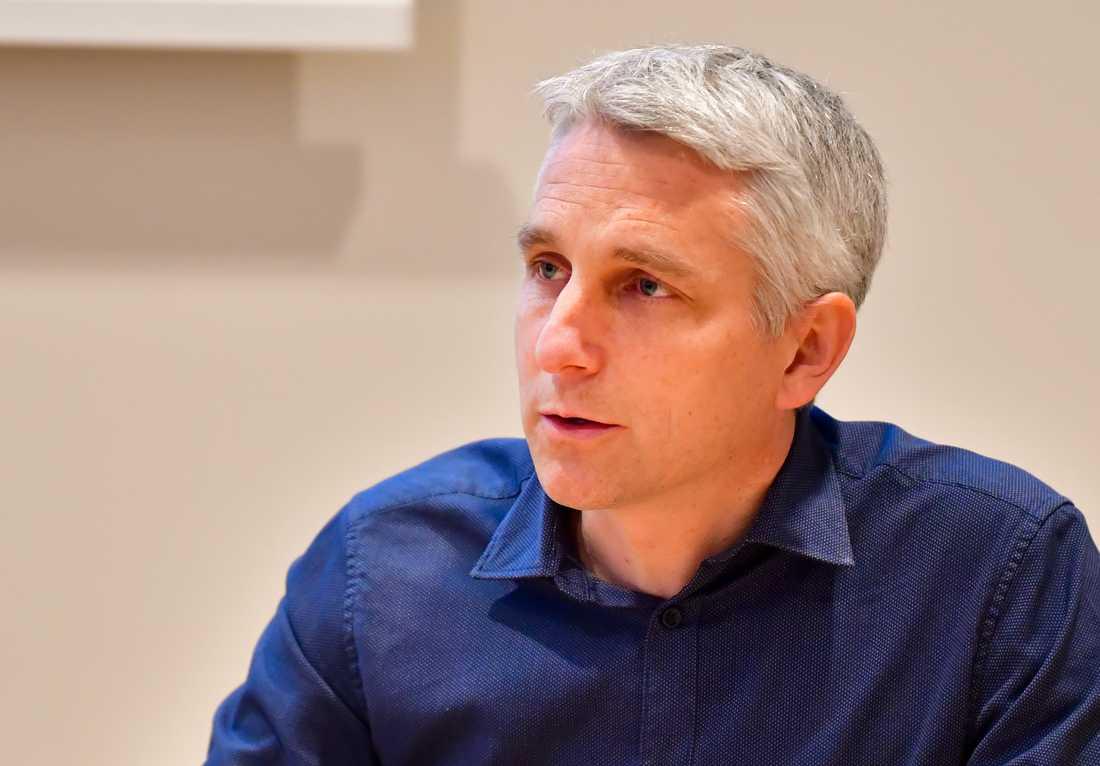 Fredrik Sund, verksamhetschef vid infektionskliniken på Akademiska sjukhuset i Uppsala.