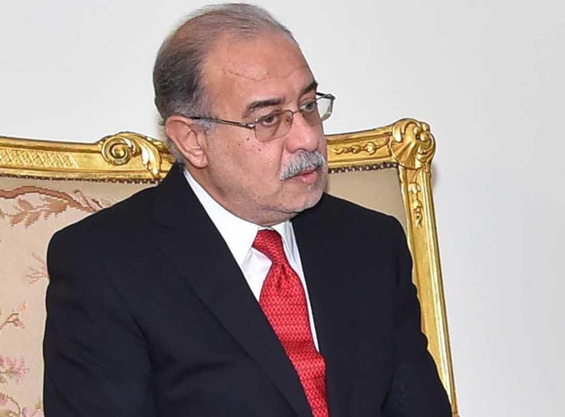 Egyptens premiärminister Sherif Ismail.