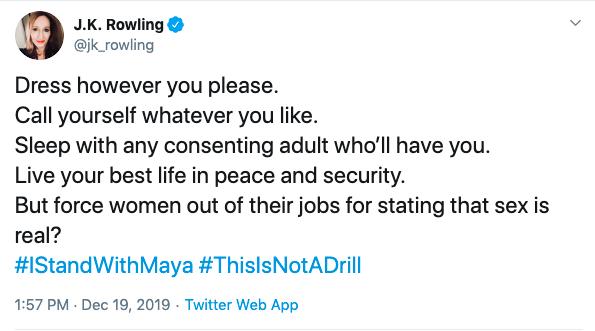 Från J.K Rowlings Twitter.