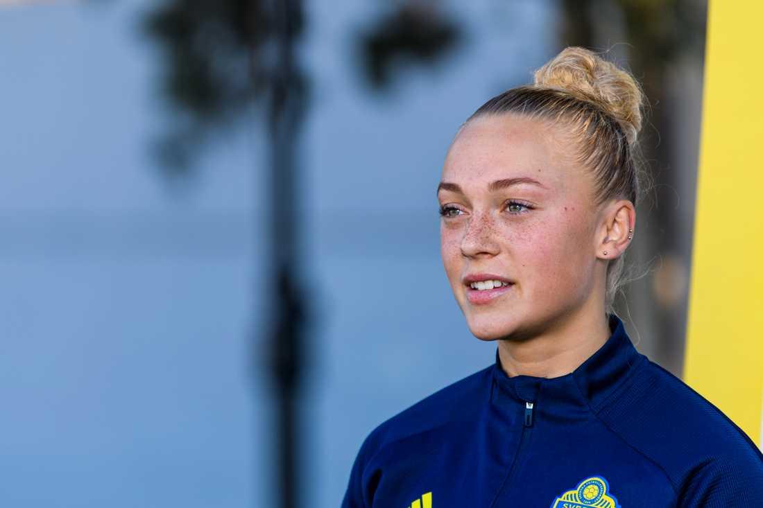 Rosengård och svenska landslagets Hanna Bennison är världens största fotbollstalang, enligt Goal.