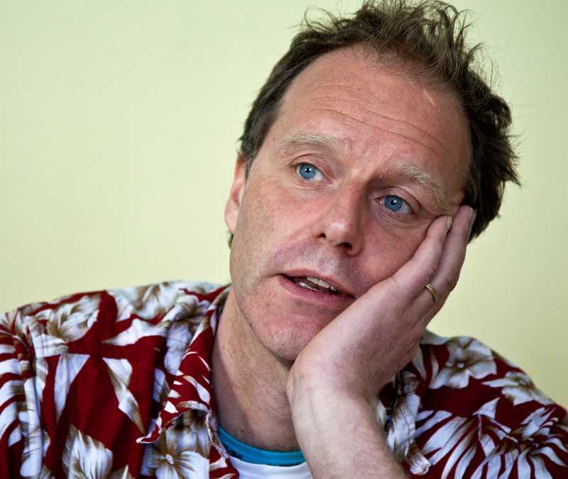 John Ajvide Lindqvist.
