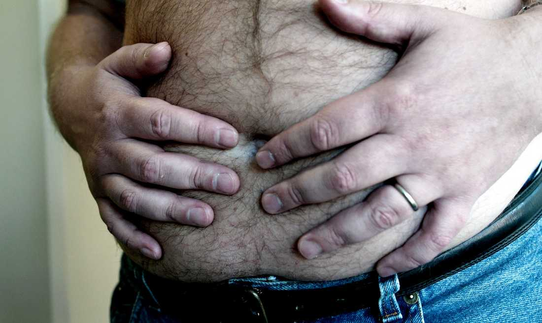 Sverige är ett av de länder där fetman ökar snabbast.