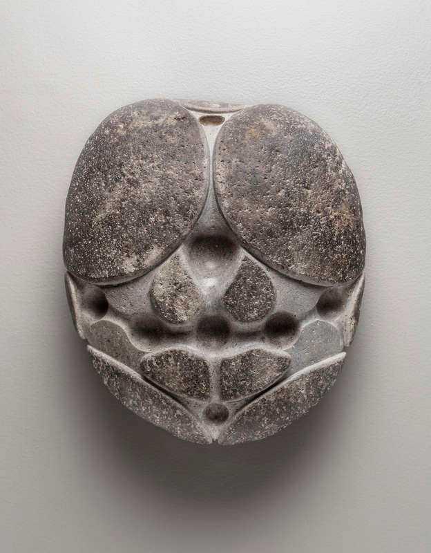 """""""Sköldpaddsten"""", Gabriel Orozco 2013. Mexikansk rullsten."""