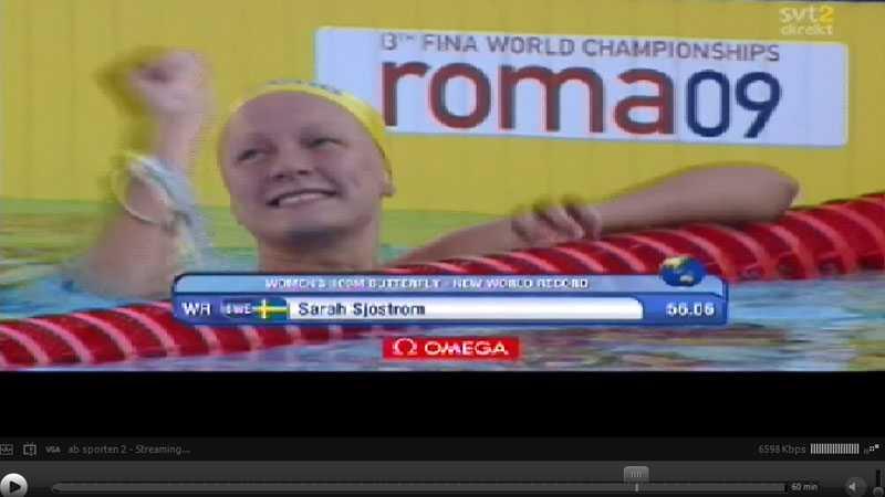 Sarah Sjöström levde upp till alla förväntningar och lite till. VM-guld och nytt världsrekord.