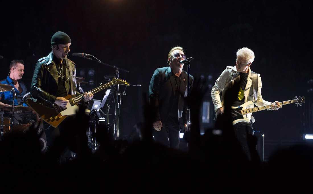 U2:s pågående världsturné började i Vancouver i maj.