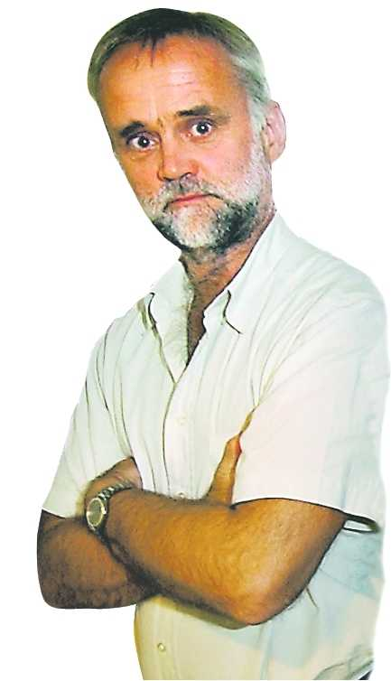 Gubb Jan Stigson, kriminalreporter.