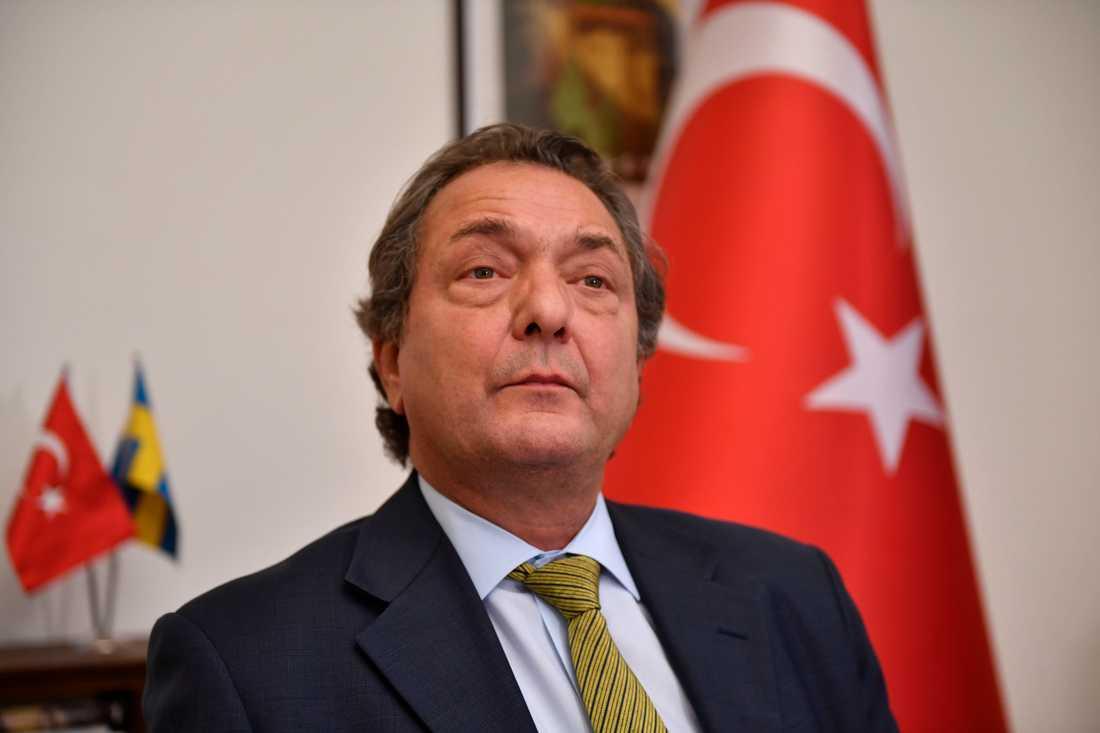 Kaya Türkmen, Turkiets ambassadör i Sverige.
