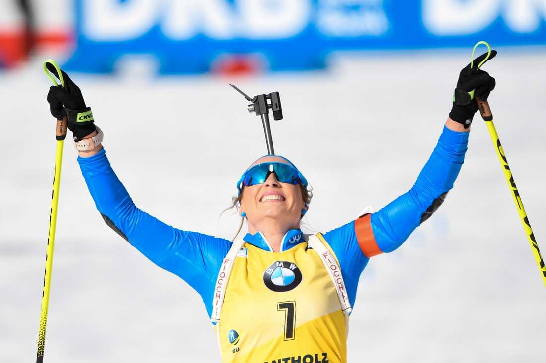 Dorothea Wierer tog sitt andra individuella VM-guld i karriären och fick jubla på hemmaplan.