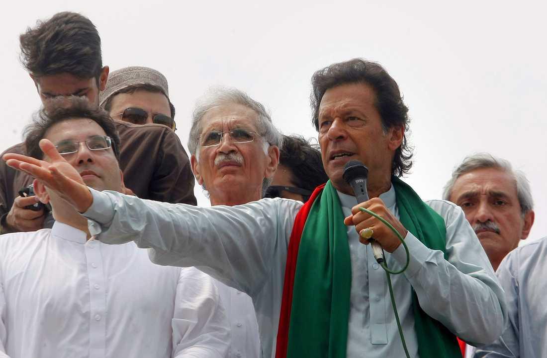 Imran Khan, Pakistans premiärminister.