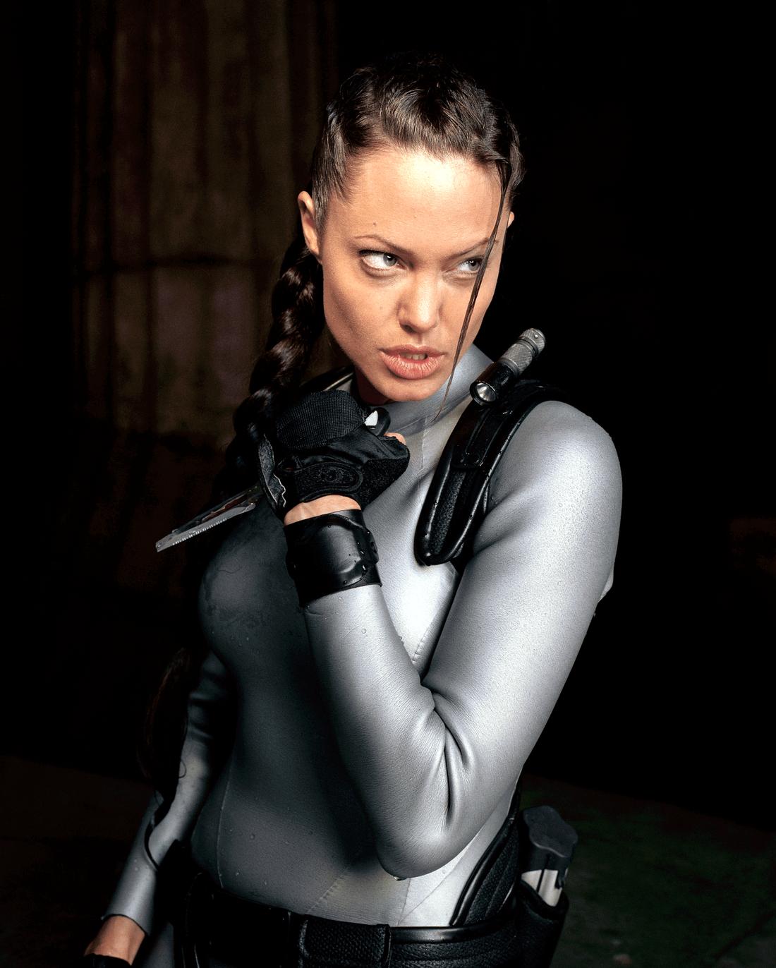 Angelina Jolie har tidigare gestaltat Lara Croft i två filmer.