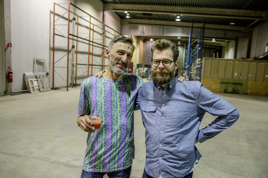 Anders Varveus startade Docklands 1995. Planen var att den legendariska klubben skulle återuppstå med hjälp av Monsteras och Dans Dakars vd Karl Törnros. Foto: Magnus Wennman.