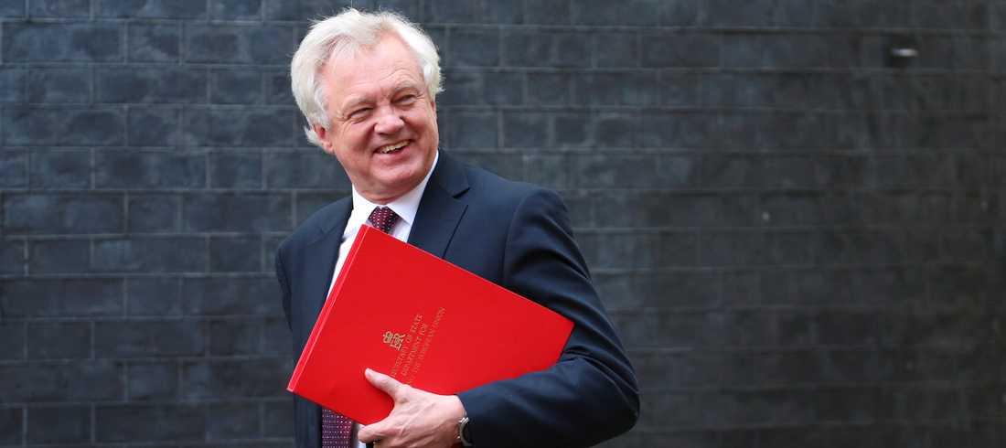 David Davis avgick från posten som Storbritanniens brexitminister i morse.