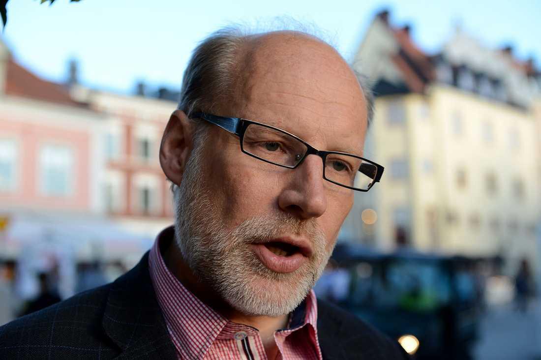 Bostadsminister Stefan Attefall, 54 Ministerfallskärm: 1,5 miljoner Riksdagsfallskärm: 5,3 miljoner