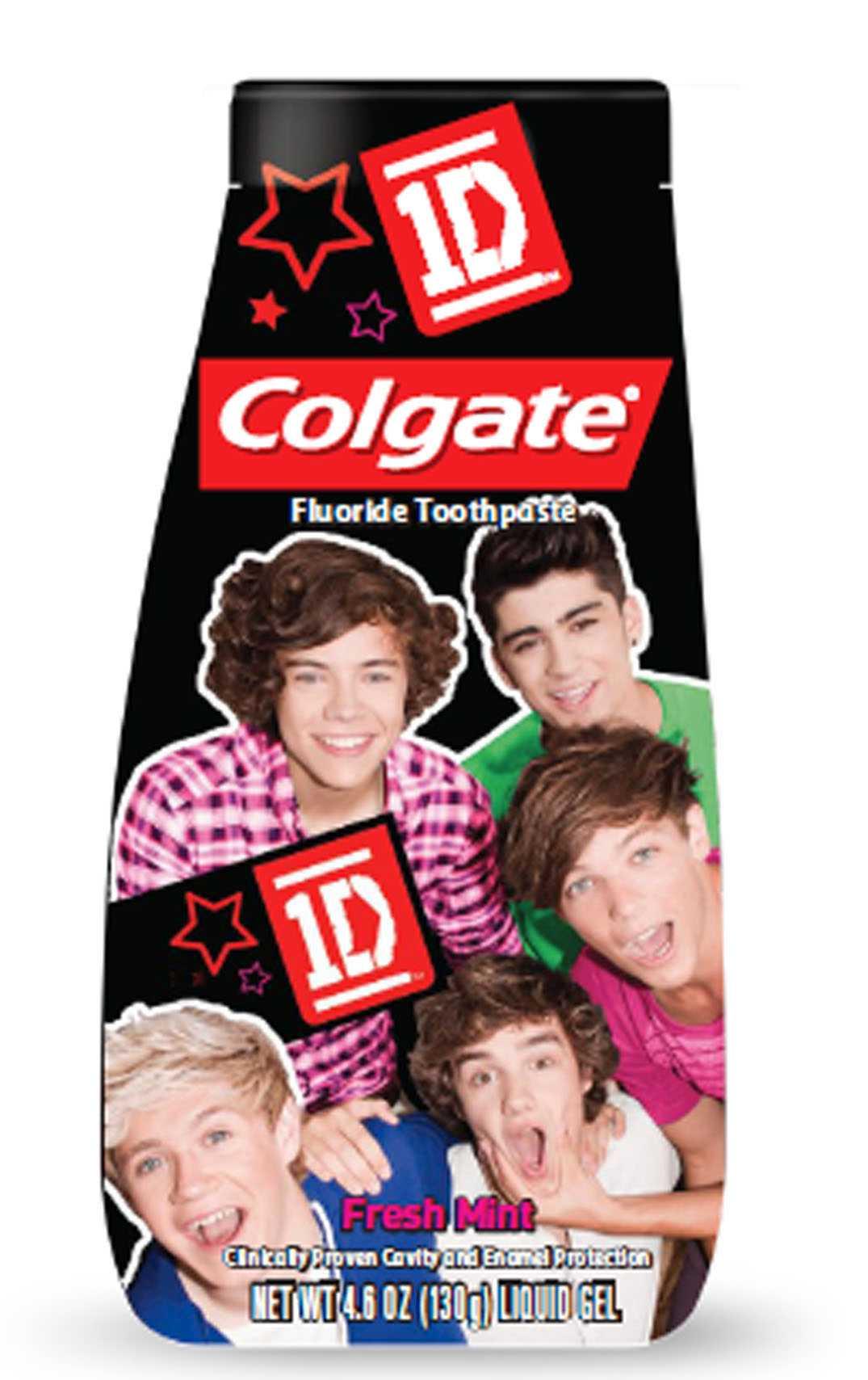 Harrys tandkräm För alla som inte gillar att borsta tänderna men gillar One Direction finns nu ett fullgott alternativ