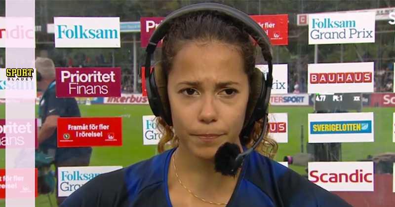 Angelica Bengtsson nära till tårar efter misslyckandet