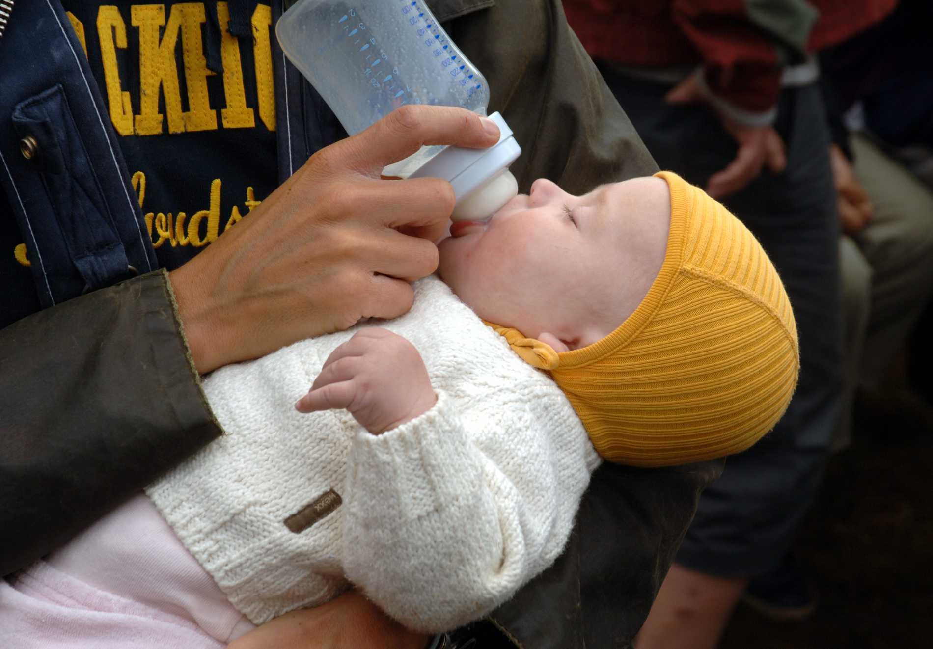 En ettåring som dricker välling varje dag har dubbelt så stor risk att bli överviktig som femåring, visar forskning vid Sahlgrenska akademin i Göteborg. Arkivbild.