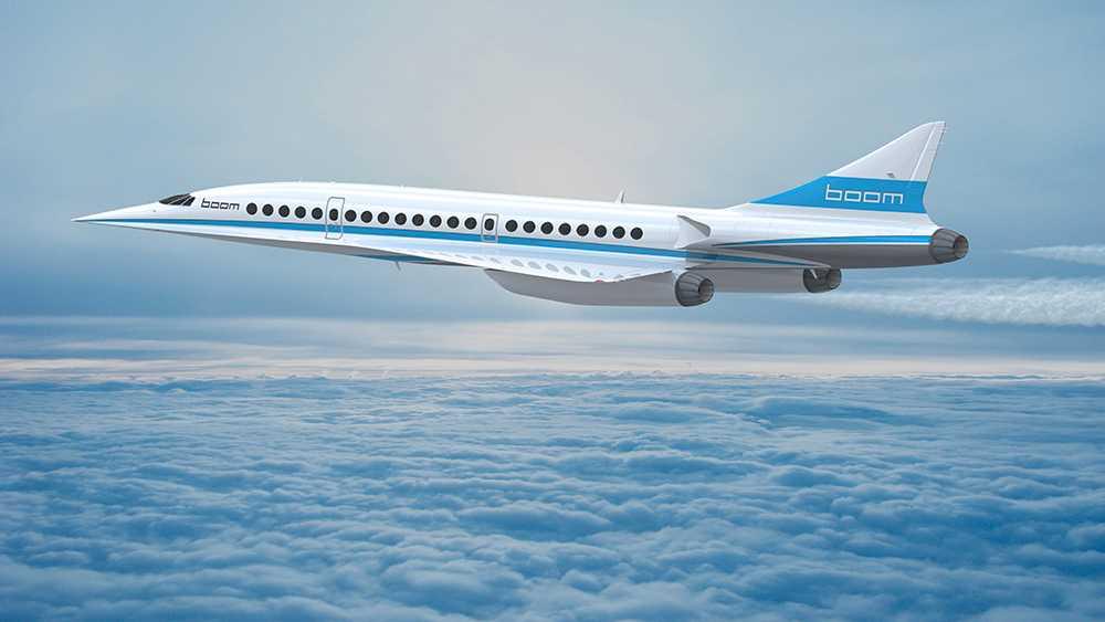 Så här kan det se ut när Boom Supersonic är i luften