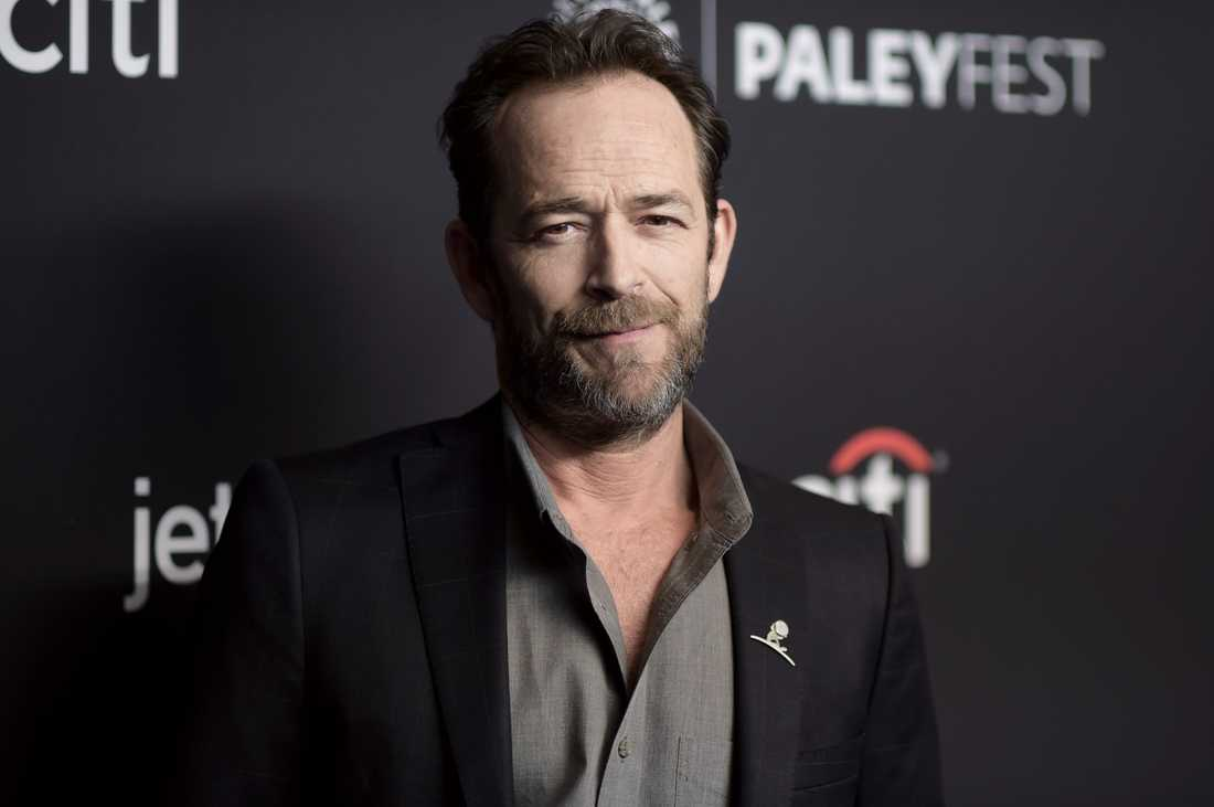 Luke Perry under ett event på Dolby Theatre i Los Angeles förra våren.