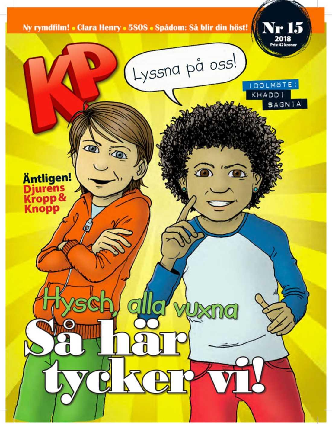 Tidningen publicerade en enkät där KP-läsarna hade svarat på frågor om sina liv.