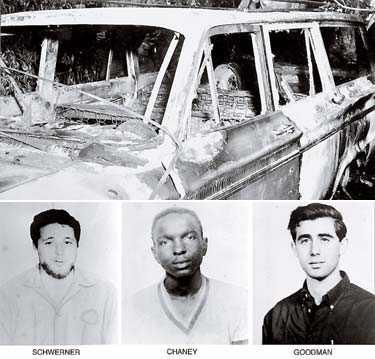 De tre offren försvann efter att ha stoppats för fortkörning. När polisen hittade bilen var den utbränd.