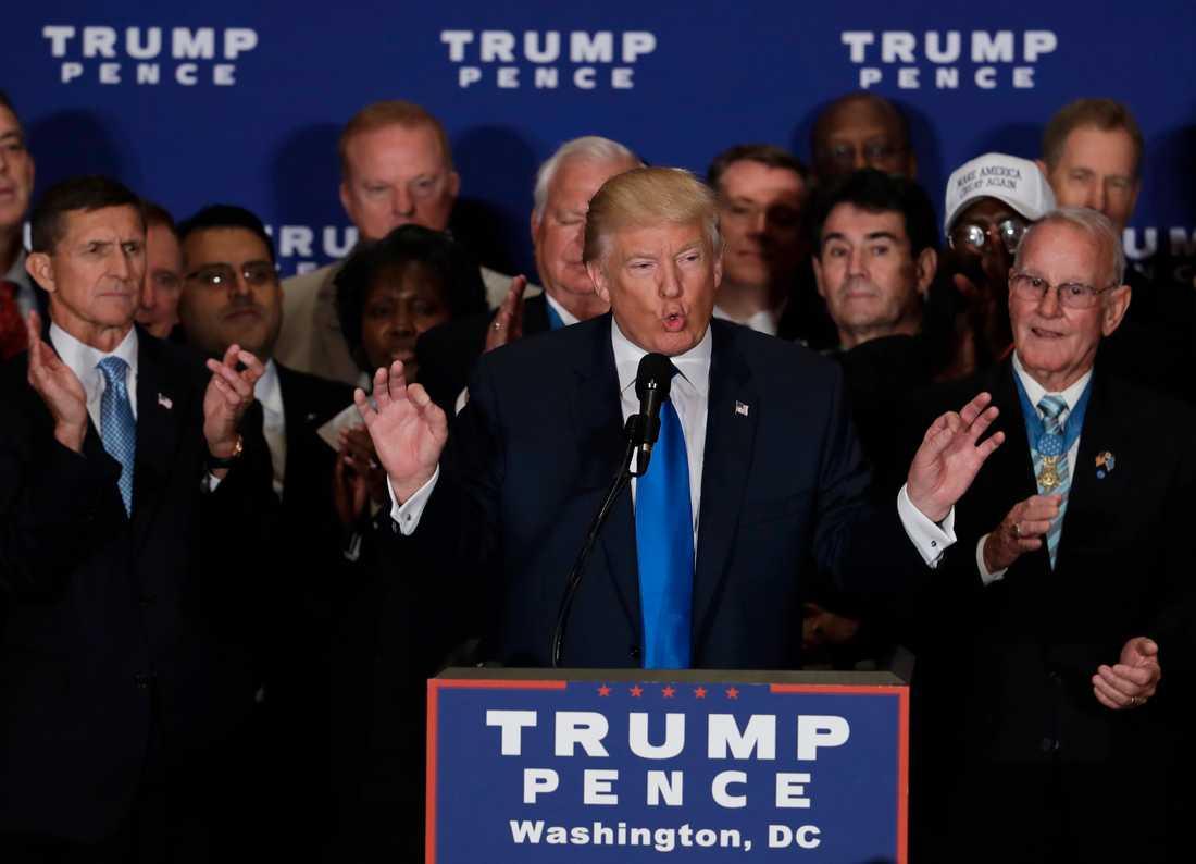 Timbuktus farbror står bakom Donald Trump.