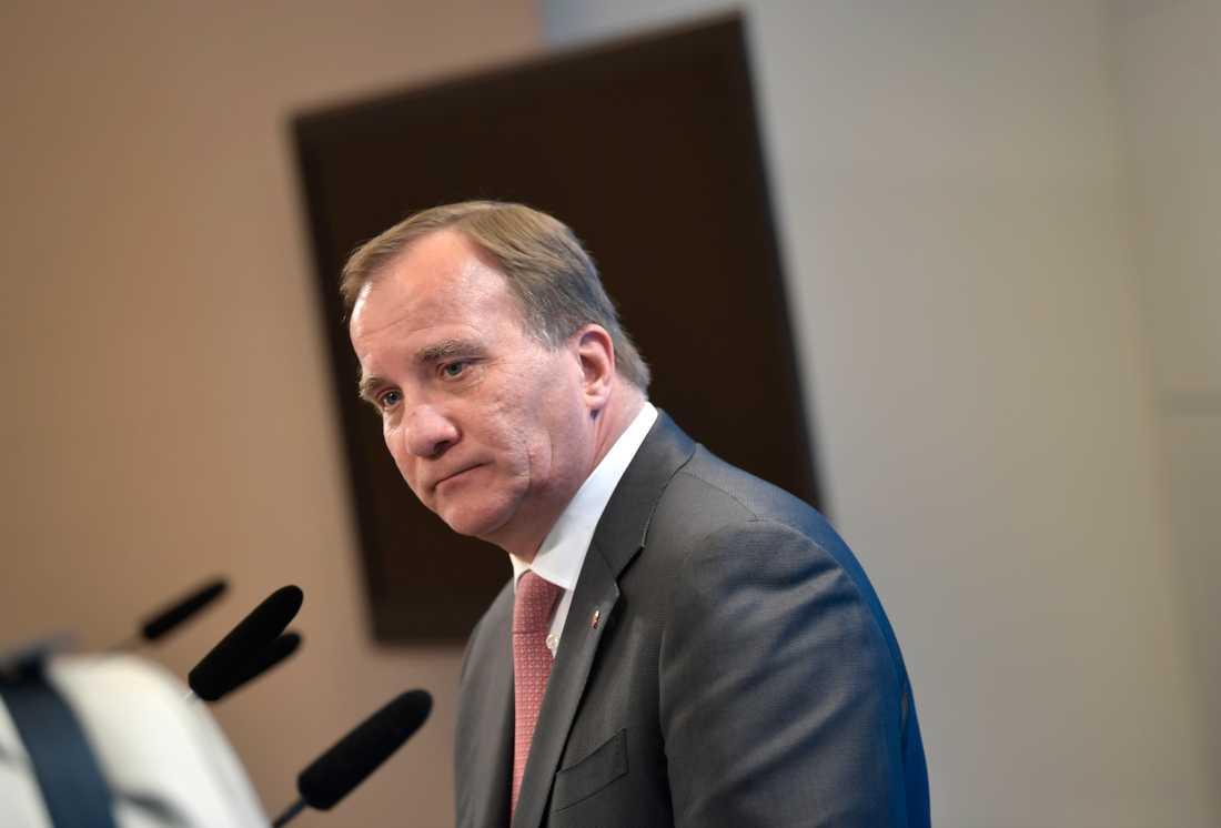 Statsminister Stefan Löfven: En ofattbart grym handling.
