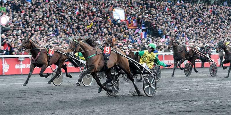 Face Time Bourbon och Björn Goop vid segern av storloppet för ett år sedan.