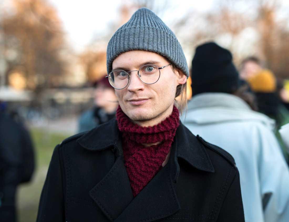 """""""Sorgligt att konsumtionen fortsätter öka"""", säger Valdemar Möller, Göteborg."""