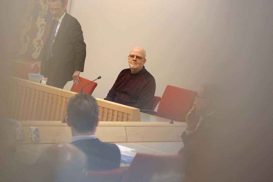 Sture Bergwall i förvaltningsdomstolen i Falun